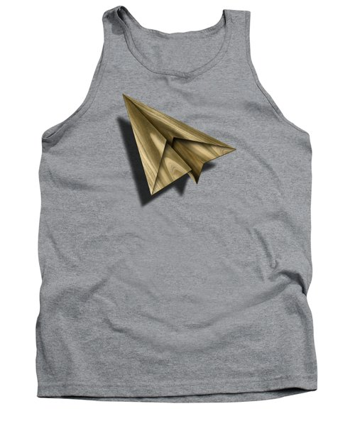 Paper Airplanes Of Wood 18 Tank Top by YoPedro