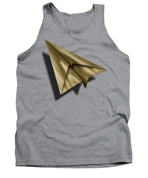 Paper Airplanes Of Wood 18 Tank Top