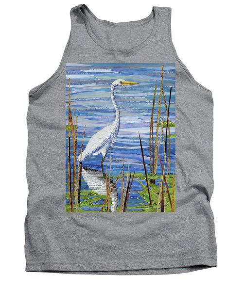 Paper Crane Tank Top by Shawna Rowe