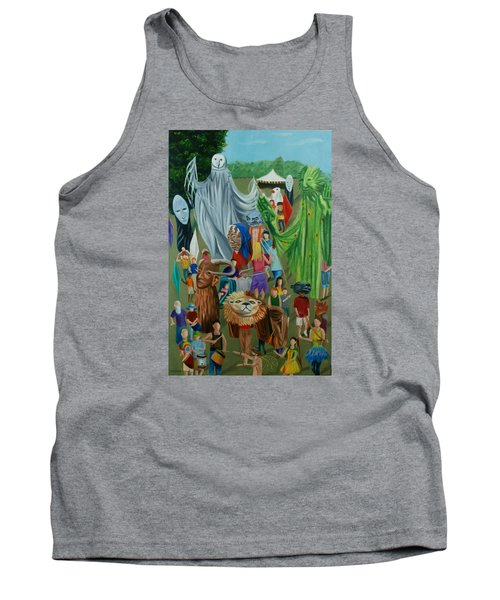 Paperhand Puppet Parade Tank Top