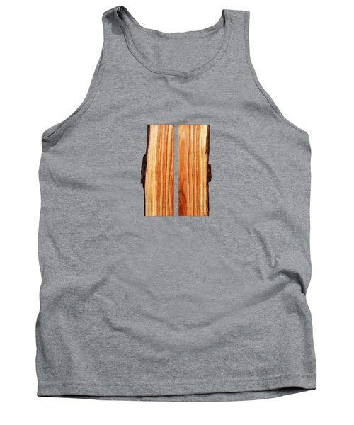 Parallel Wood Tank Top by YoPedro