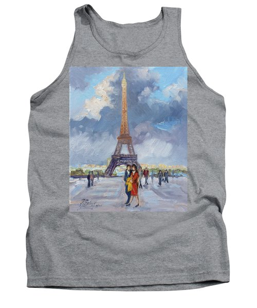 Paris Eiffel Tower Tank Top