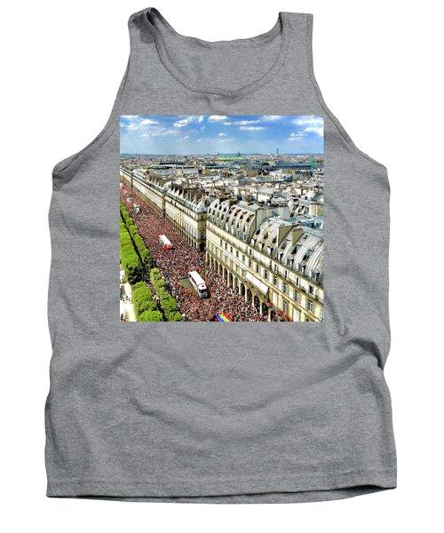 Paris Pride March 2018 Tank Top