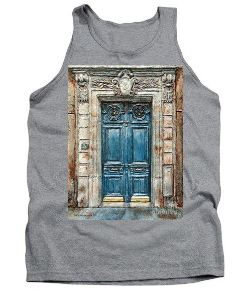 Parisian Door No. 3 Tank Top by Joey Agbayani