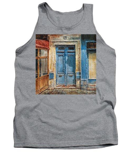 Parisian Door No.36 Tank Top by Joey Agbayani