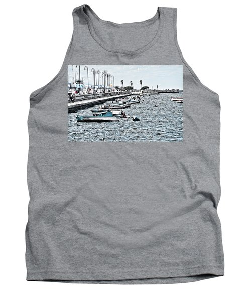 Parked And Waiting Tank Top