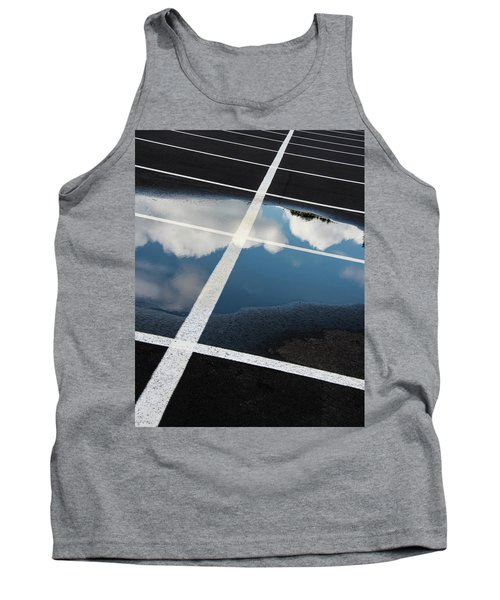 Parking Spaces For Clouds Tank Top by Gary Slawsky