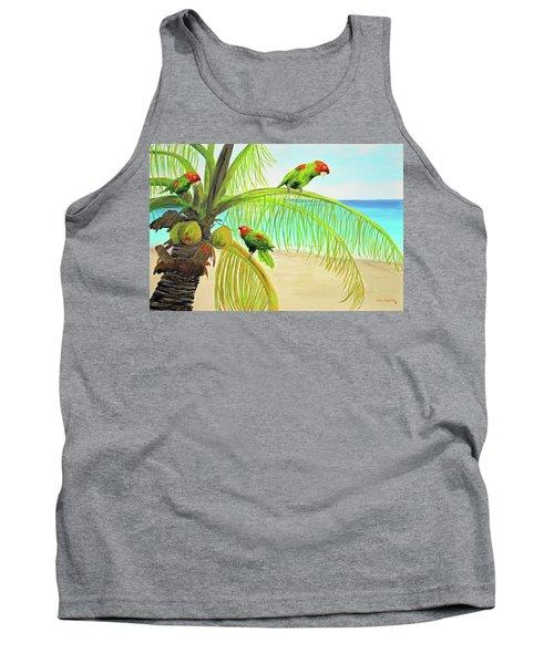 Parrot Beach Tank Top