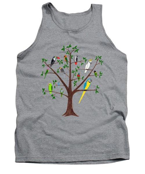 Parrot Tree Tank Top
