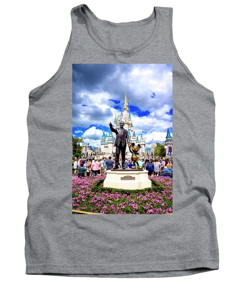 Tank Top featuring the photograph Partners Two by Greg Fortier