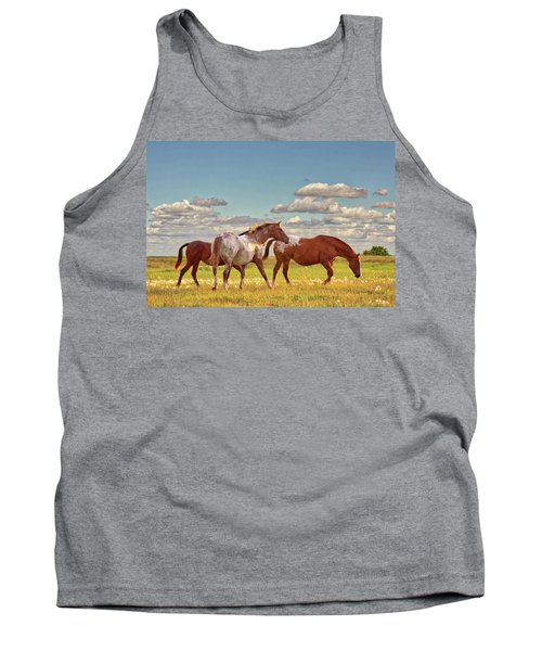 Party Of Three Tank Top