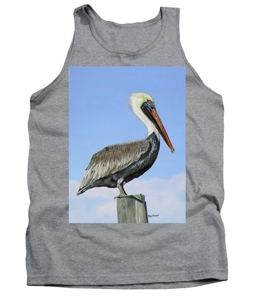 Pass Christian Sentinel Tank Top by Phyllis Beiser