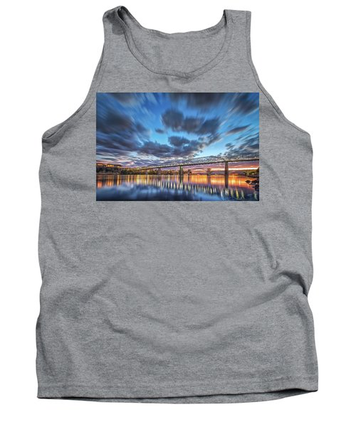 Passing Clouds Above Chattanooga Tank Top by Steven Llorca