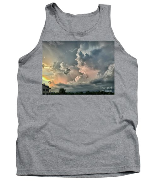 Pastel Clouds Tank Top