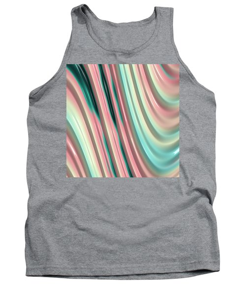 Tank Top featuring the photograph Pastel Fractal 2 by Bonnie Bruno