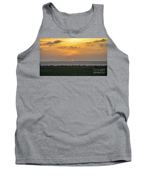 Tank Top featuring the photograph Pastel Sky by Debra Martz