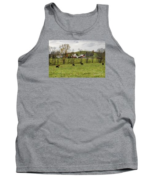 Tank Top featuring the photograph Pastoral by Larry Ricker