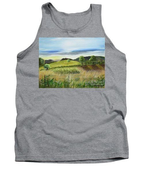 Pasture Love At Chateau Meichtry - Ellijay Ga Tank Top
