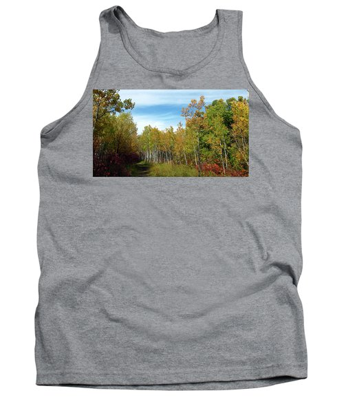 Path In The Woods 7 Tank Top