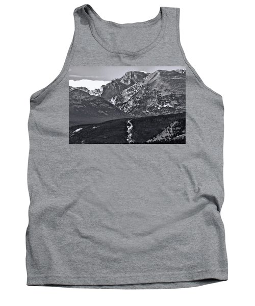Tank Top featuring the photograph Path To Longs Peak by Dan Sproul