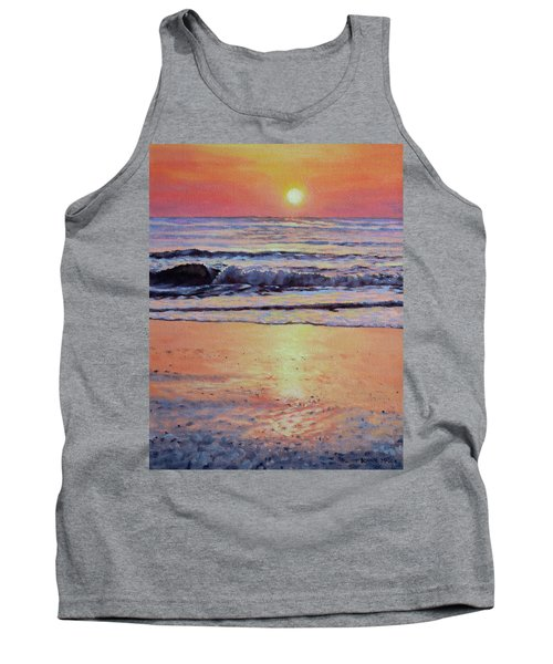 Pathway To Dawn - Outer Banks Sunrise Tank Top