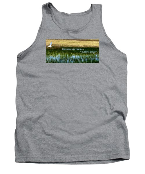 Tank Top featuring the photograph Patience  by David Norman