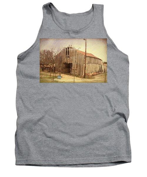 Paul's Barn Tank Top by Susan Crossman Buscho