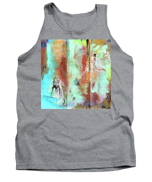 Pause In The Reconstruction Of Doubt  Tank Top