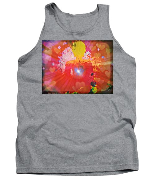 Peace And Love Meditation Tank Top