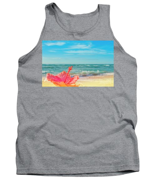 Tank Top featuring the photograph Peace Love And Aloha by Sharon Mau