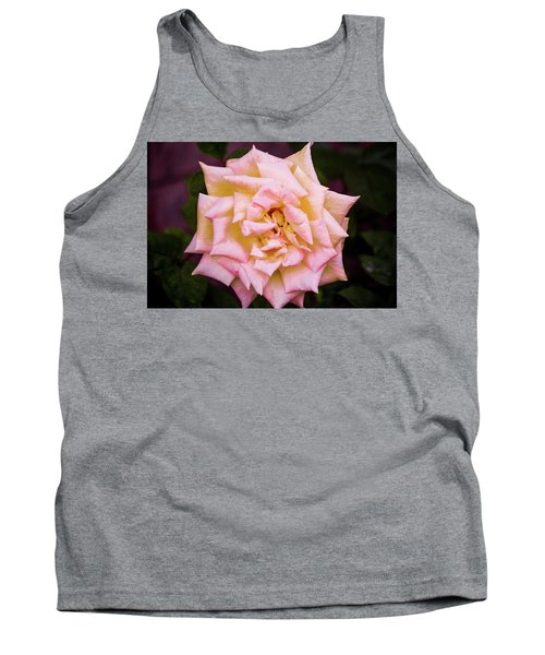 Tank Top featuring the photograph Peace Rose by Donna G Smith