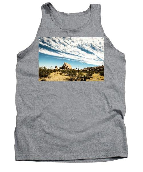 Peaceful Boulder Tank Top