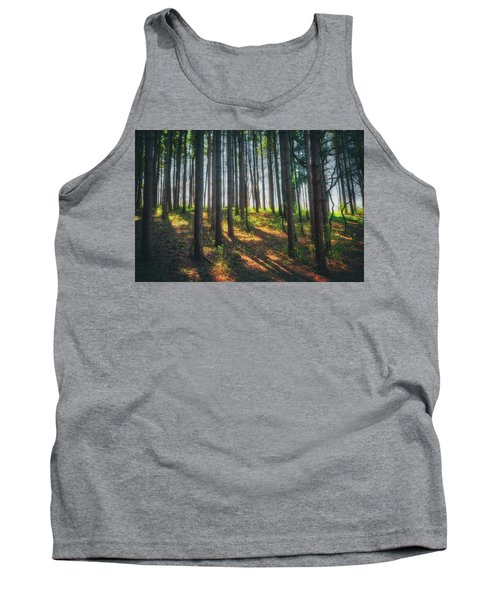 Peaceful Forest - Spring At Retzer Nature Center Tank Top by Jennifer Rondinelli Reilly - Fine Art Photography