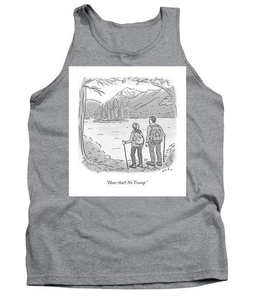Peaceful Hikers Tank Top