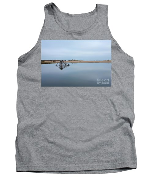 Peaceful Tidepool On The Outer Banks Tank Top by Dan Carmichael