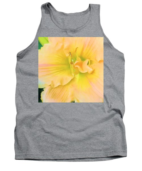 Peach Lily Tank Top