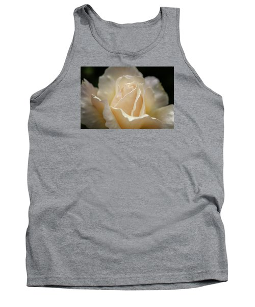 Peach Rose Tank Top by Mary Angelini