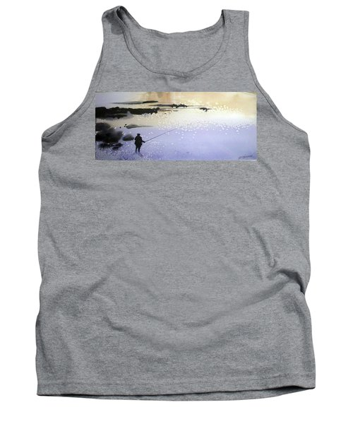 Tank Top featuring the painting Peche by Ed Heaton
