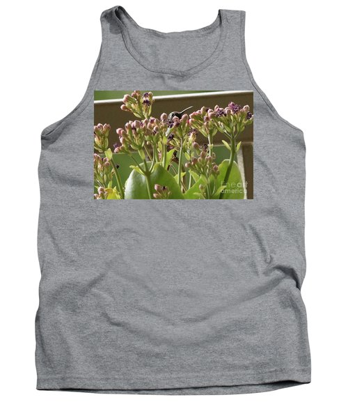 Tank Top featuring the photograph Peek A Boo by Anne Rodkin
