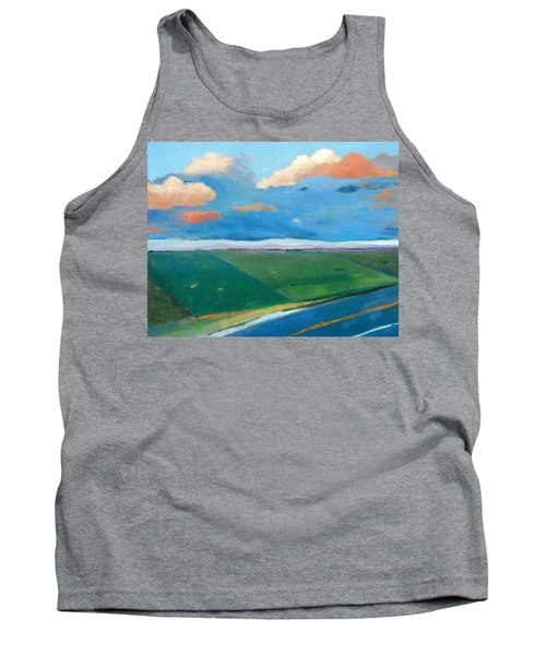 Tank Top featuring the painting Peggy's Road by Gary Coleman