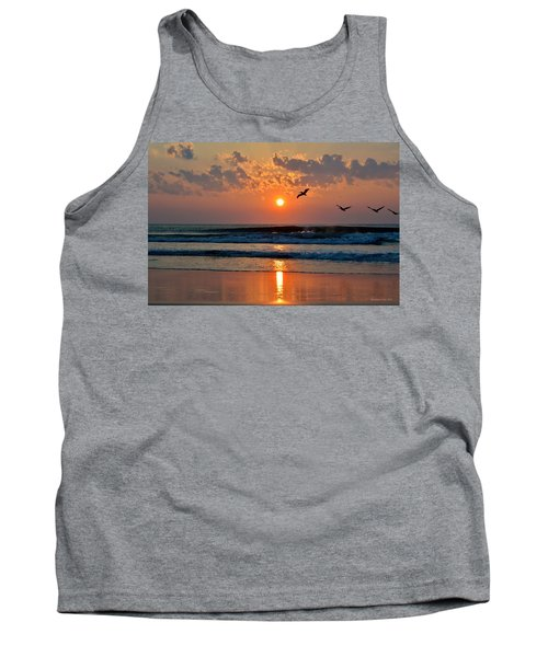 Pelicans On The Move Tank Top