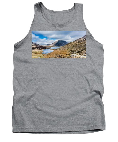 Tank Top featuring the photograph Pen Yr Ole Wen by Nick Bywater