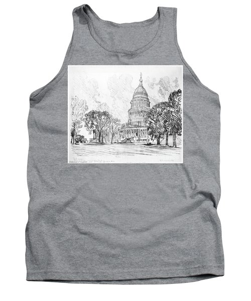 Pennell Capitol, 1912 Tank Top by Granger