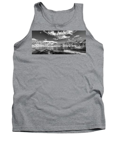 Tank Top featuring the photograph Perfect Lake At Mount Baker by Jon Glaser