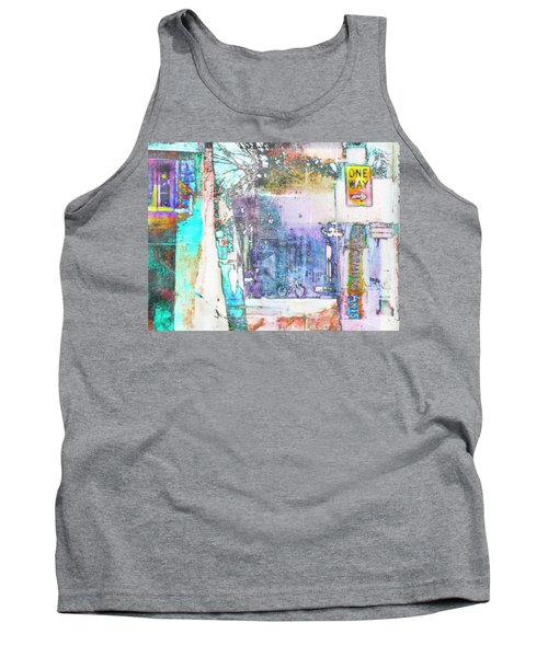 Tank Top featuring the photograph Performance Arts by Susan Stone