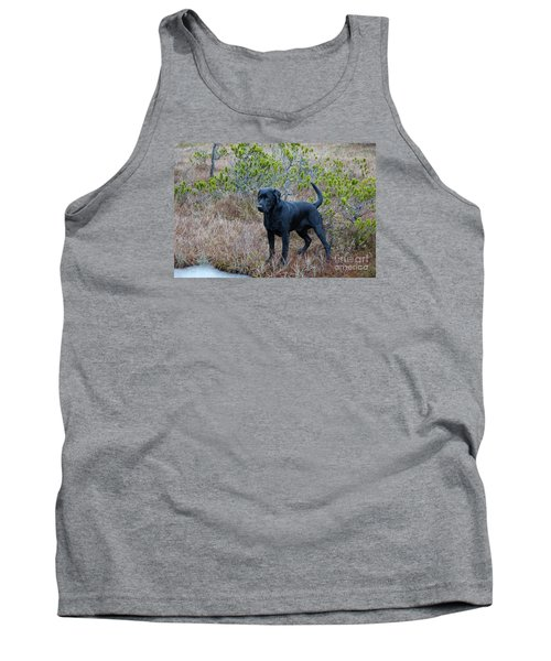 Pet Portrait - Radar Tank Top