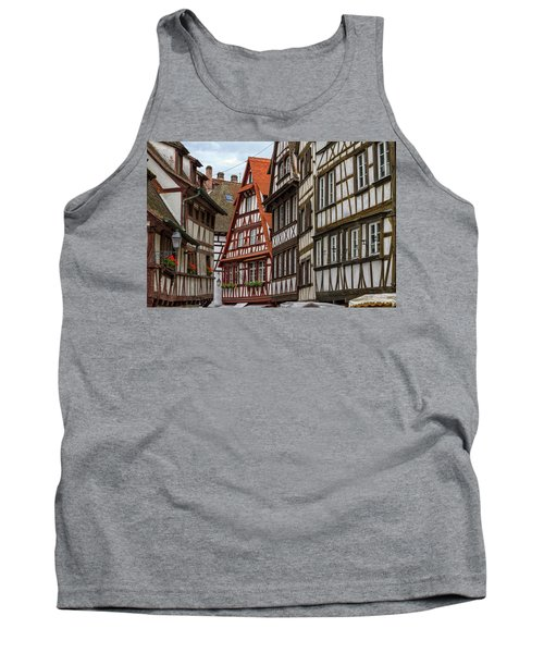 Petite France Houses, Strasbourg Tank Top