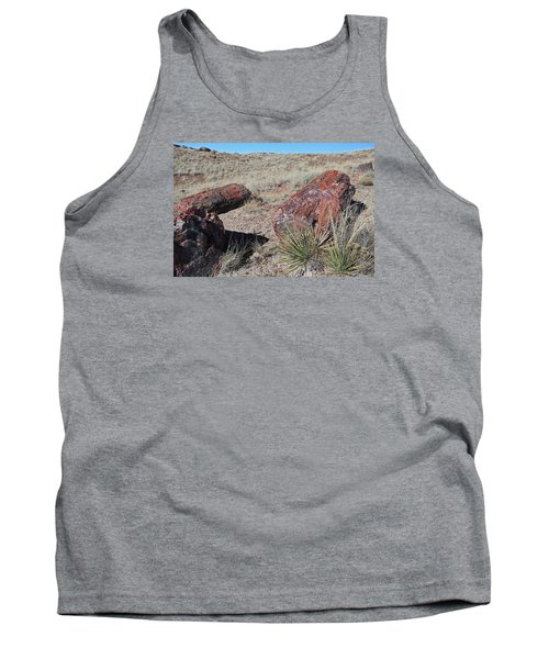 Tank Top featuring the photograph Petrified Afternoon by Gary Kaylor