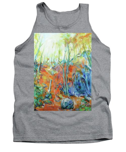 Pfeil - Arrow Tank Top by Koro Arandia
