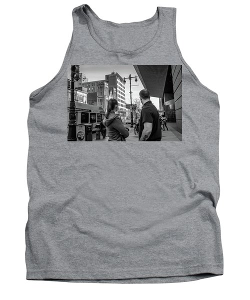 Tank Top featuring the photograph Philadelphia Street Photography - Dsc00248 by David Sutton